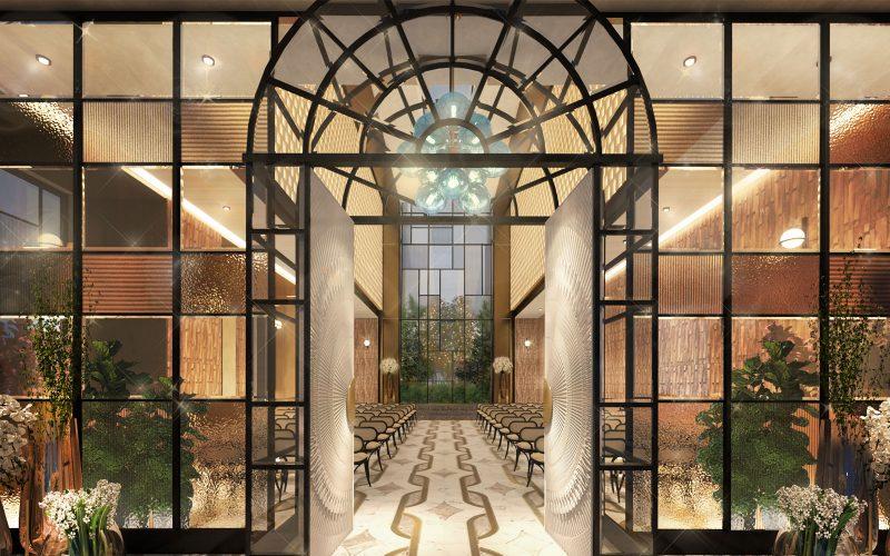 Kimpton Tokyo Shinjuku Hotel Wedding Chapel