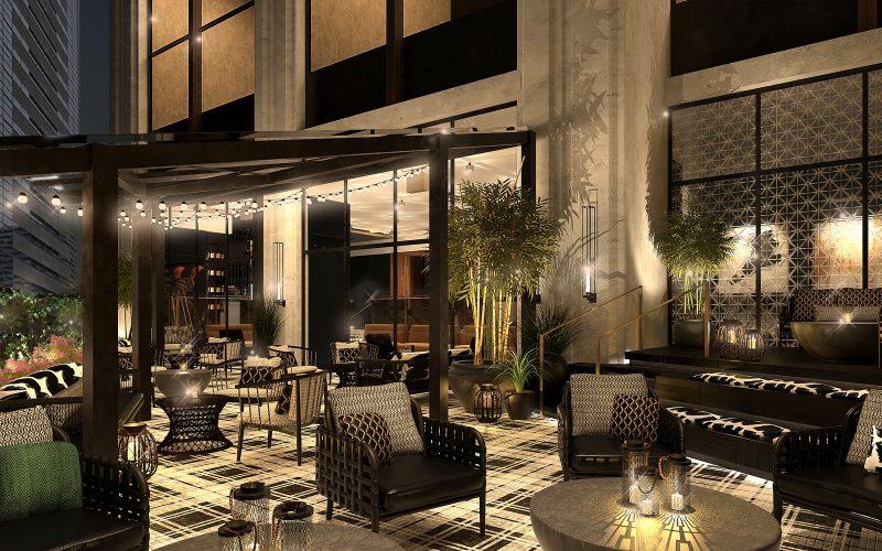 Kimpton Tokyo Shinjuku Hotel Restaurant